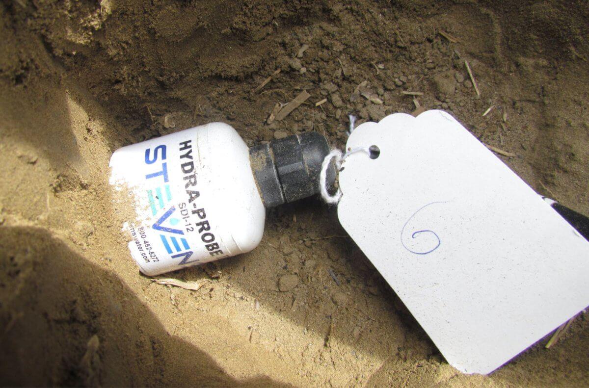 HydraProbe soil sensor